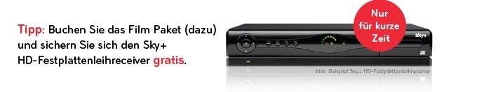 HD+ Receiver gratis zum Filmpaket dazu