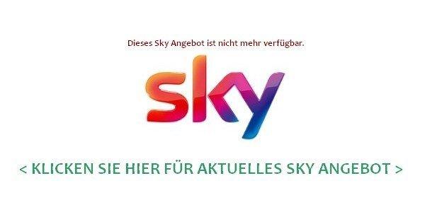 Sky Angebote Aktuell