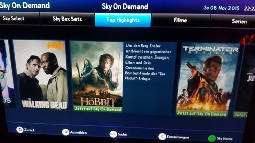 Serien Sky On Demand