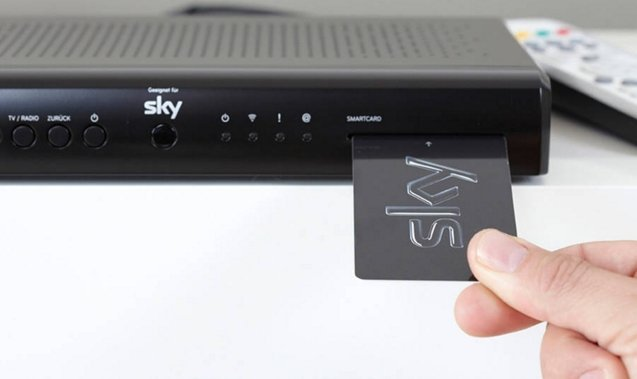 Sky Q Receiver Karte Einsetzen.Sky Smartcard Was Ist Das Nötig Für Sky Empfang