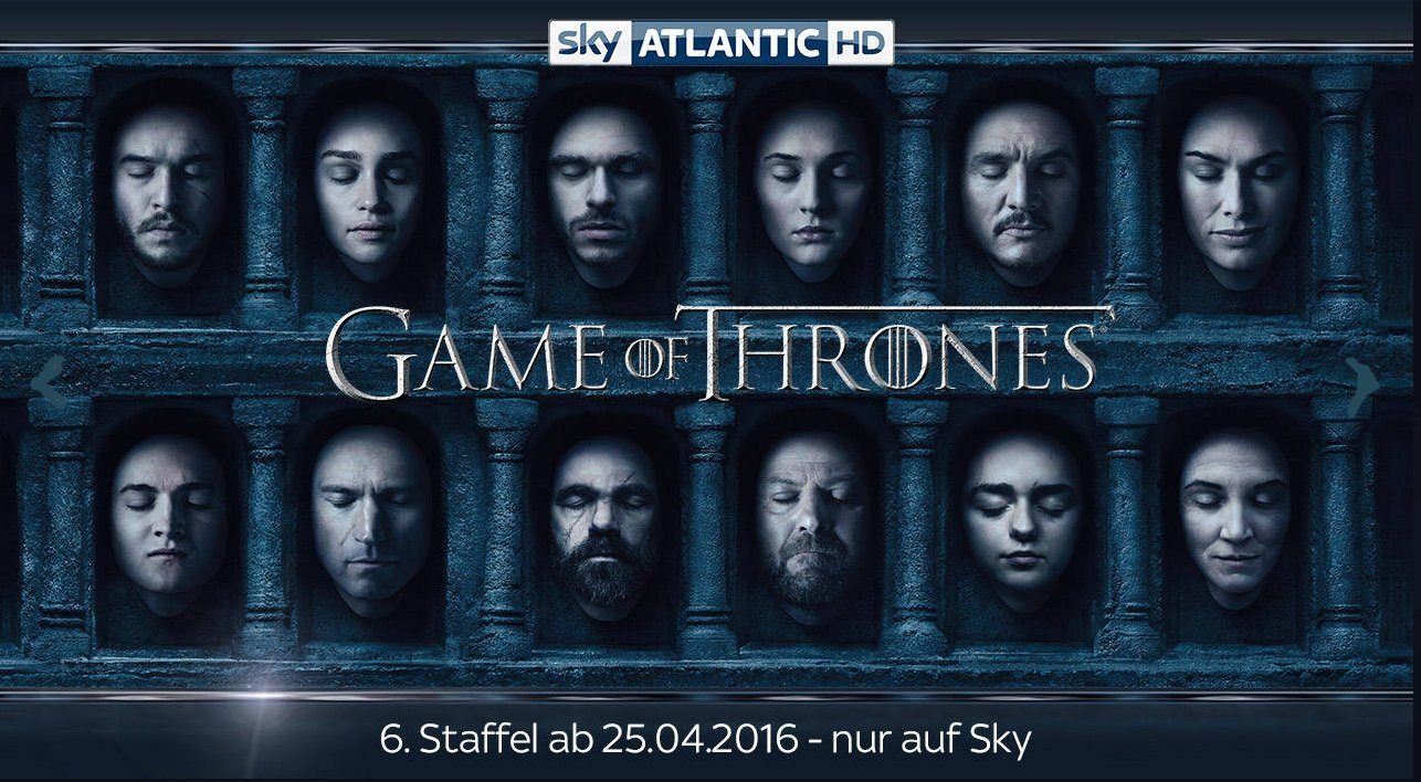 game of thrones sky staffel 6