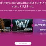 Sky Ticket Angebote ab 1€