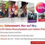 Serien & Filme KOMPLETT für nur 26,50€ mtl. inkl. HD, Ultra HD, Sky+ Receiver, Sky On Demand, Sky Box Sets.