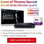 Über 3 Monate Sky gratis! Danach Wunschpakete ab 16,99€*/Monat inkl. vieler Extras!