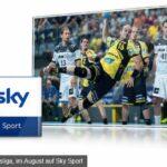 Handball LIVE bei Sky – Komplette Übersicht, alle Infos & Angebote