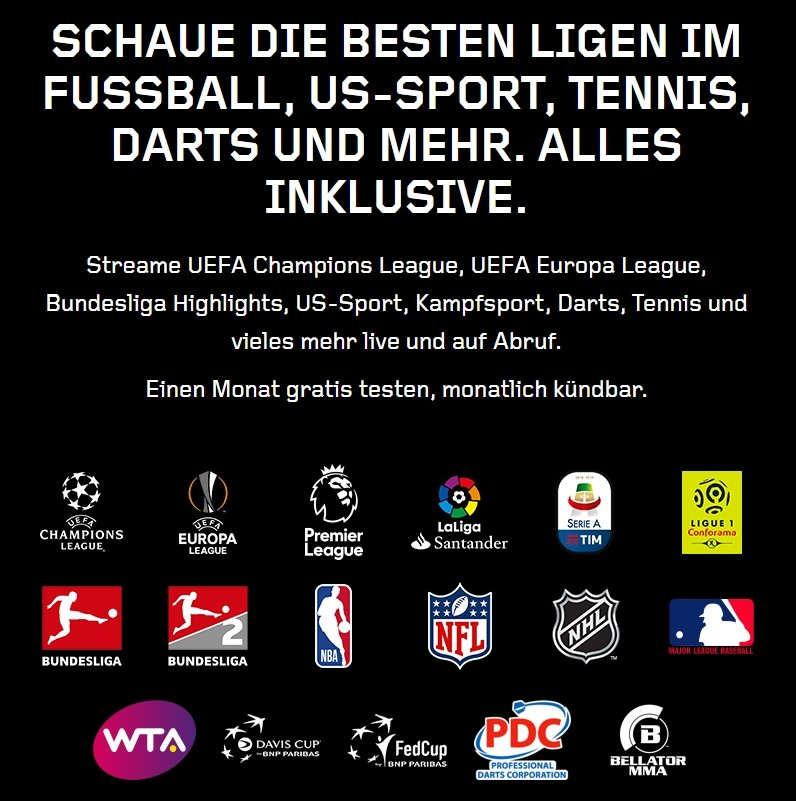 Live-Sport Streaming