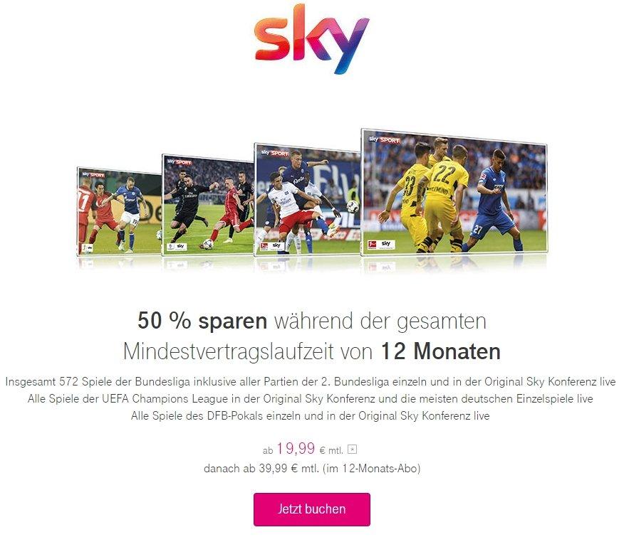Sky über Entertain - Sender, Aktuelle Angebote, Buchung