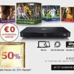 Sky komplett Angebot – Aktuell nur 44,99€/Monat!
