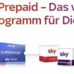 Sky Prepaid – Angebote, Möglichkeiten, so geht's