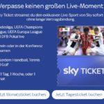 Sky Ticket Supersport für 29,99€*/Monat!