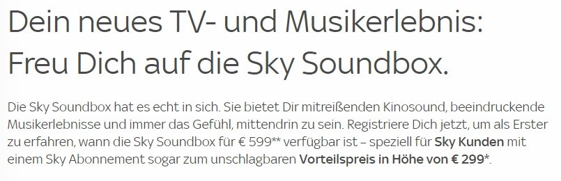 sky soundbox was ist das angebote ab nur 299 infos bestellung. Black Bedroom Furniture Sets. Home Design Ideas