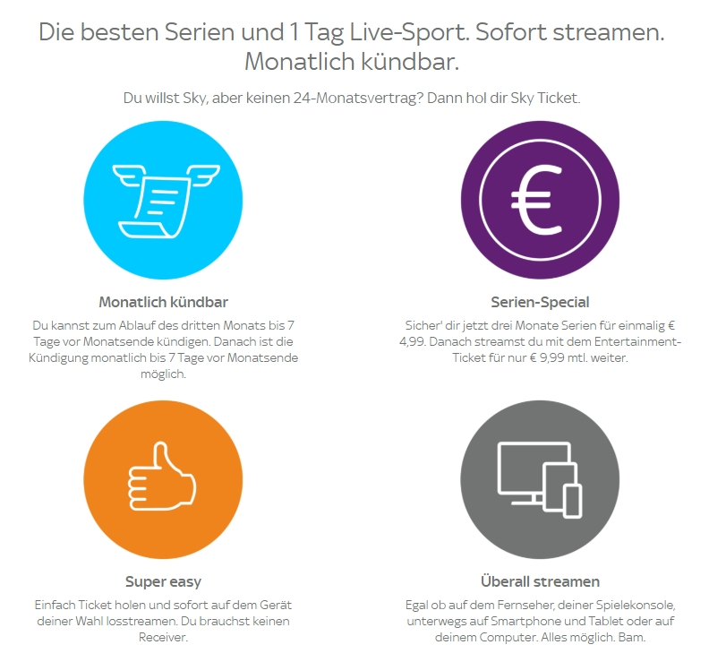 sky-ticket-streaming-vorteile