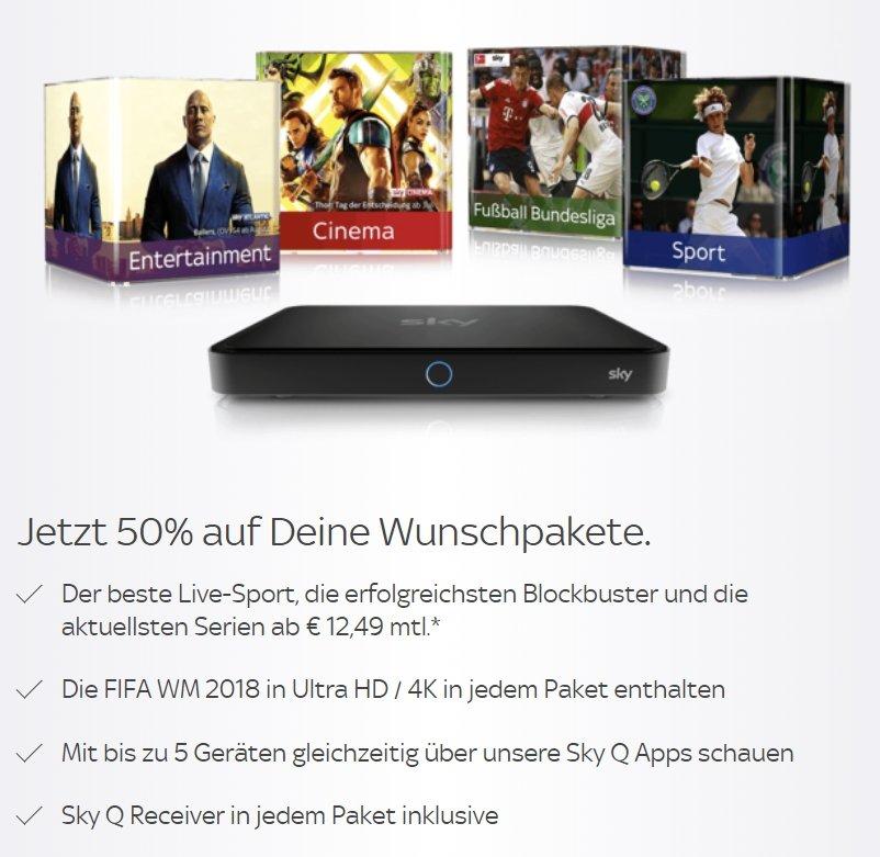 WM in Ultra HD Sky - Sendeplan, Empfang & Sky WM Angebote