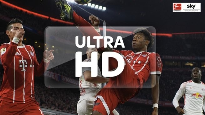 Live Sport In Ultra Hd Bei Sky Fussball In 4k