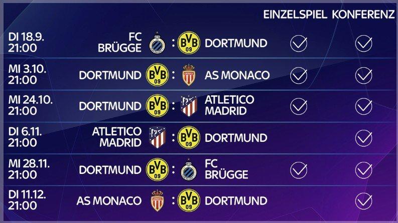 fc bayern champions league spielplan