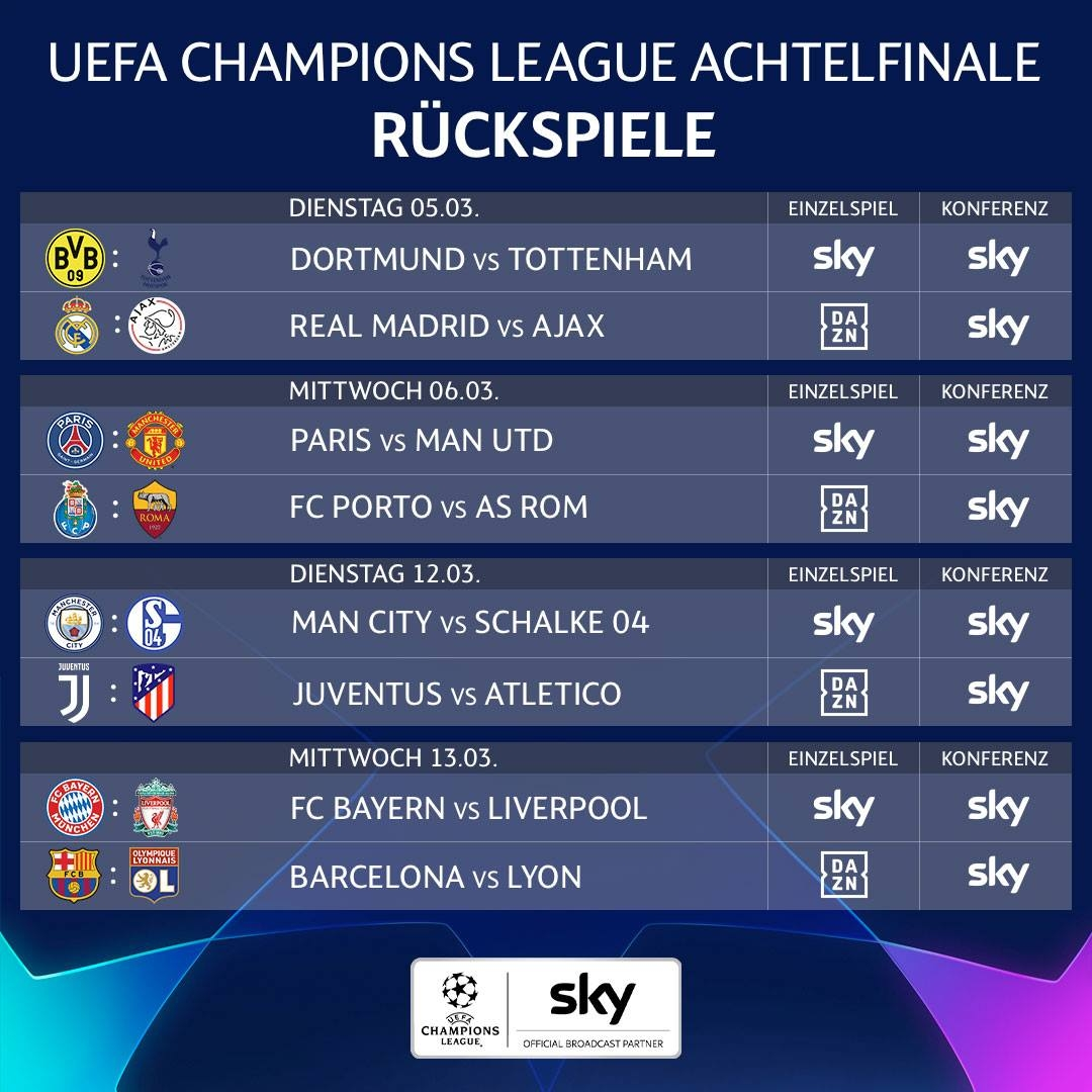 champions-league-achtelfinale-rueckspiele