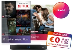 Film & Serien-Kombi-Angebot + NETFLIX für nur 29,99€/Monat für immer*!