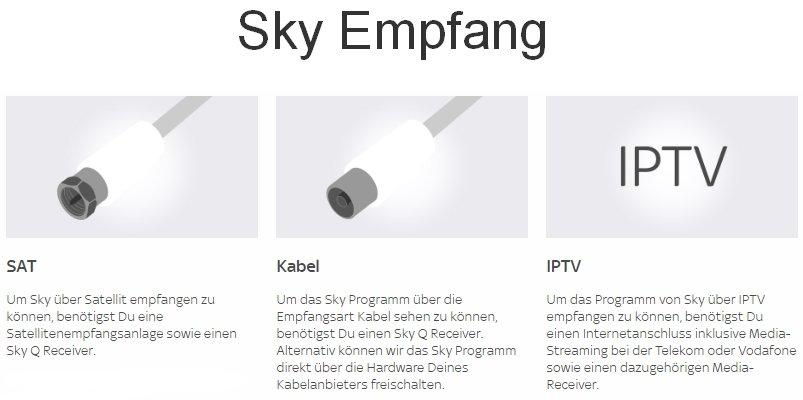 Sky Empfang