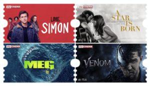 Sky Ticket Cinema für einmalig 4,99€. JETZT buchen!