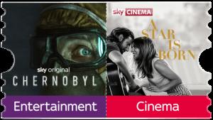 Sky Ticket Fiction (Entertainment + Cinema) für einmalig 7,49€. JETZT buchen!