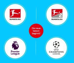 Sky Ticket Sport - JETZT nur 9,99€* im 1. Monat oder 99,99€ für 5 Monate! ⚽️
