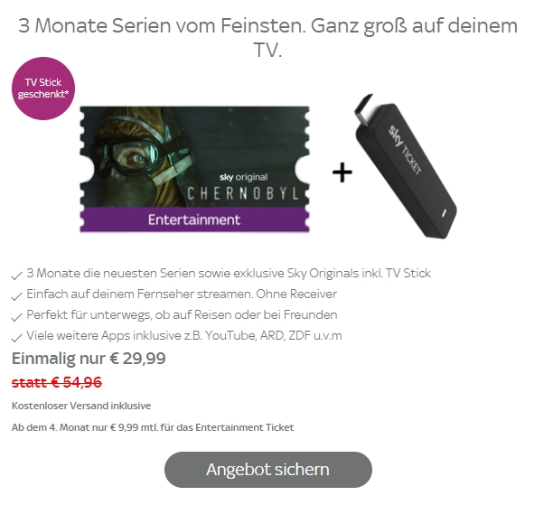 Sky Ticket Auf Fire Tv Streamen