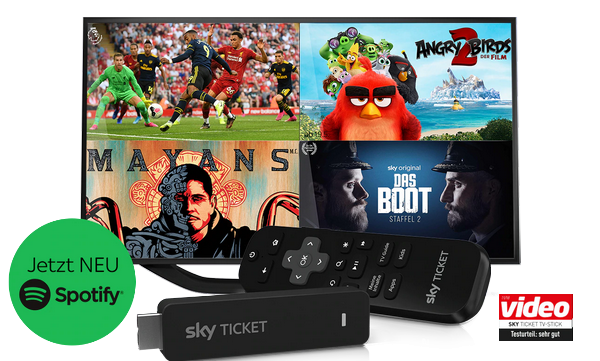 sky-ticket-tv-stick-spotify-angebot