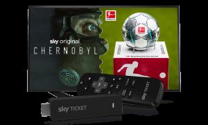 Sky Ticket TV Stick - Sky auf jedem Gerät streamen!