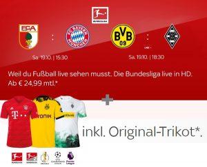 Sky Sport Kombi Angebot - ab mtl. 29,99€ inkl. HD/UHD & Original-Trikot*!