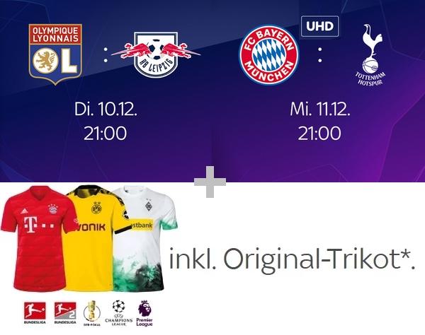 Sky Sport Kombi Angebot - 29,99€/Monat inkl. HD/UHD & Original-Trikot*!