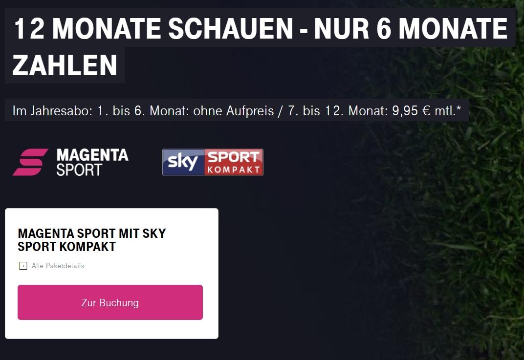 Telekom Sky Sport Kompakt Senderliste