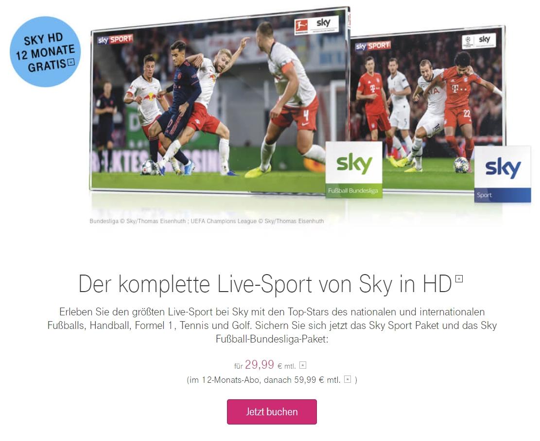 Sky Telekom Angebote