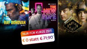 Sky Wunschpakete ab 14,99€! TIPP: Auch mit Fixpreis buchbar!