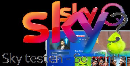 Sky Angebote testen