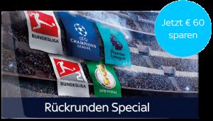Sky Ticket Sport & Supersport - JETZT ab 9,99€*/Monat! ⚽️ KURZ: Rückrunden-Special!
