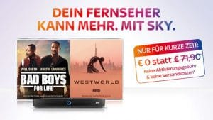 Nur JETZT: Sky Serien + Filme in HD/4K: Nur 24,99€/Monat.