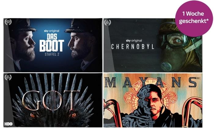 1 Monat Sky Entertainment Ticket - ALLE Serien für 7,49€!