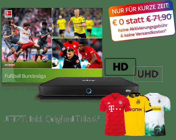 JETZT: Bundesliga-Special für nur 24,99€/Monat*!