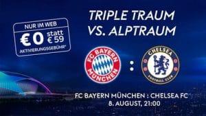 JETZT BUCHEN! UEFA Champions League Achtelfinale ab 7.8. & Finalturnier LIVE ab 17,50€