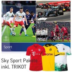 Sky Trikot Angebot 🎽 AKTUELL: mtl. 17,50€ Sky Sport inkl. Trikot