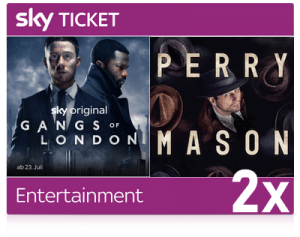 2 Monate Sky Entertainment Ticket - ALLE Serien für 14,99€!