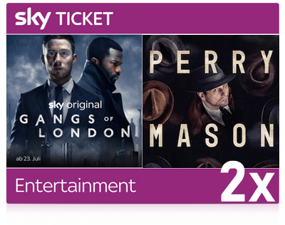 2 Monate Sky Entertainment Ticket - ALLE Serien für 14,99€!