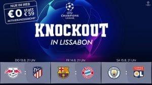 UEFA Champions League Finalturnier LIVE im Sky Sport Paket ab 17,50€
