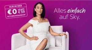 Sky Angebot inkl. aller Serien in HD ab 12,50€ mtl.!