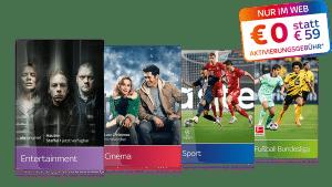 ALL INCLUSIVE! 🔥 Sky komplett Angebot inkl. HD: 40€/Monat!