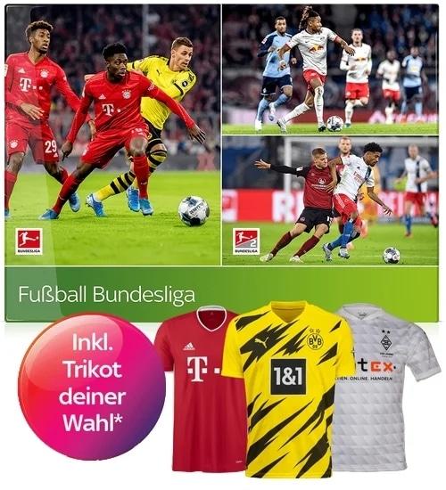 Sky Trikot Angebot 🎽 AKTUELL: mtl. 25€ Sky Bundesliga inkl. Trikot