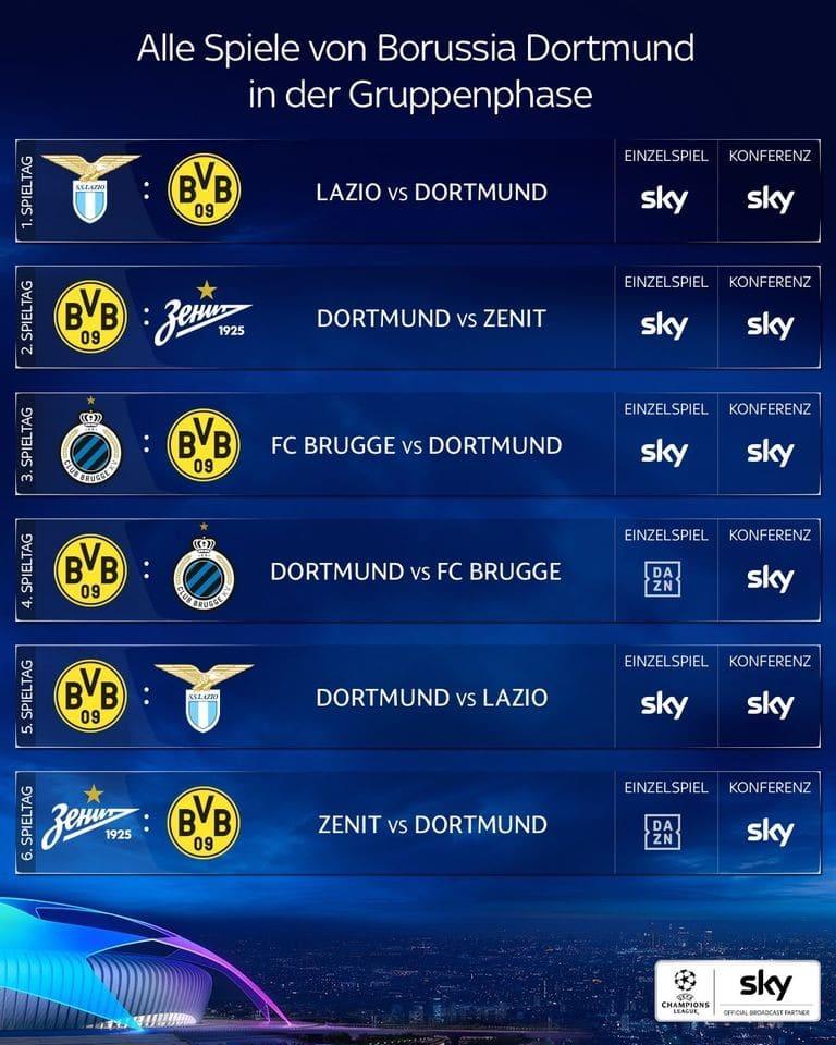 dortmund-champions-league spielplan