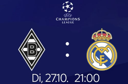 Gladbach - Real Madrid LIVE | 27.10. | nur bei Sky | ab 9,99€