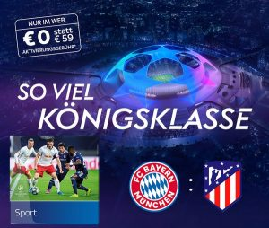 Sky Champions League Start Angebot 2020/21 - ab 17,50€/Monat!