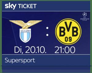 Sky Sport Ticket inkl. UEFA Champions League 2020/21 Live ⚽️ JETZT: ab 9,99€/Monat buchbar!